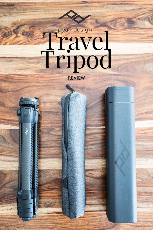 Peak Design Travel Tripod Carbon Fiber Review - Is it worth it?