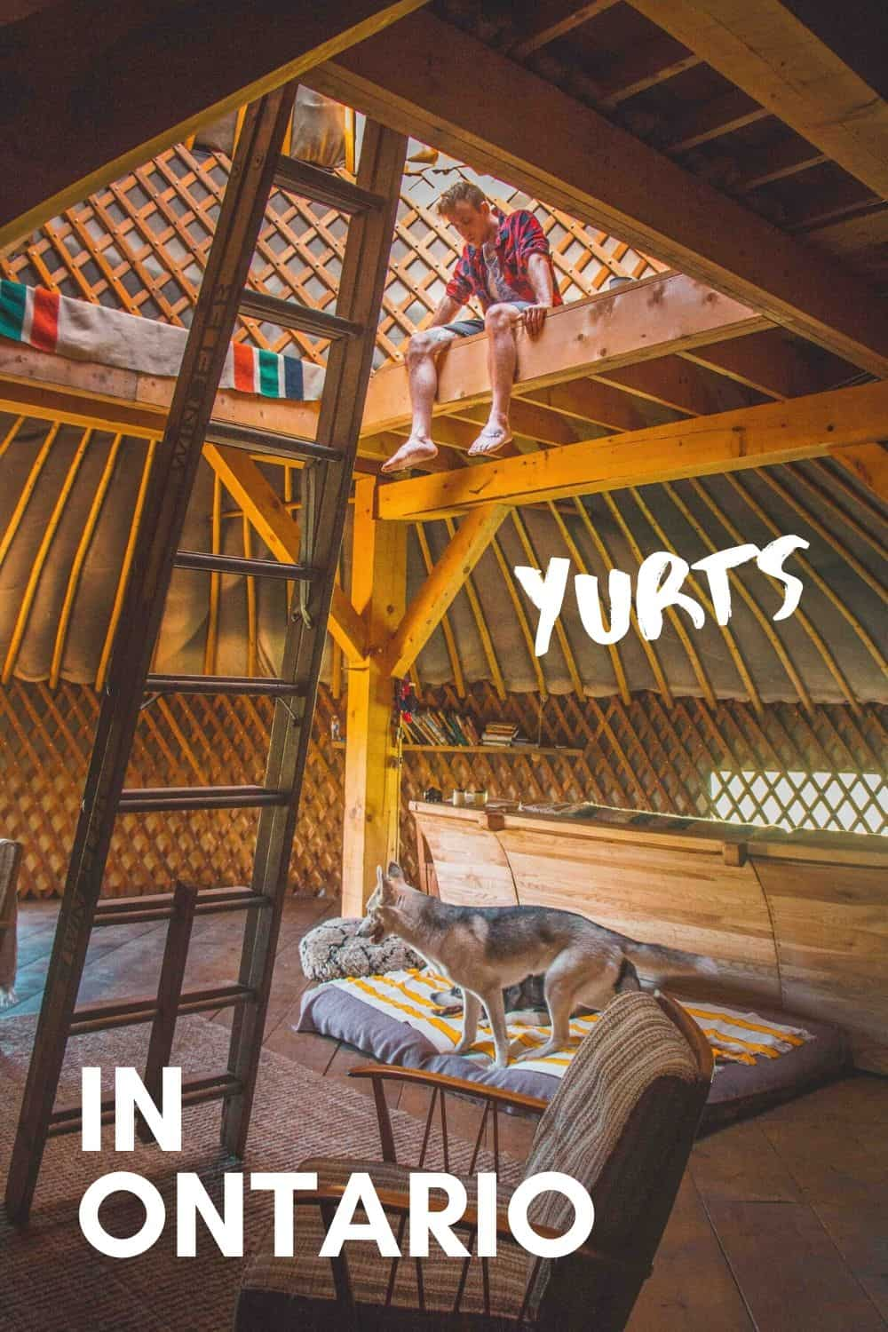 Yurts in Ontario - From Basic to Glamping