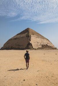 bent pyramid cairo highlight
