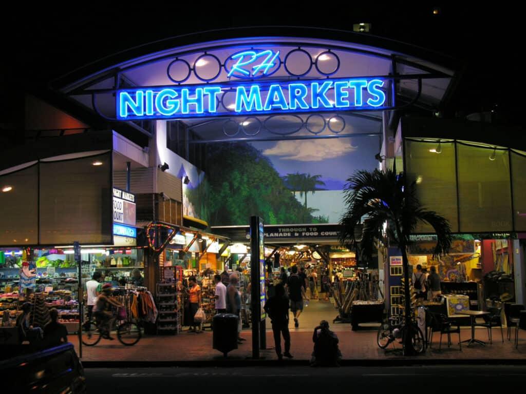 must visit cairns night market