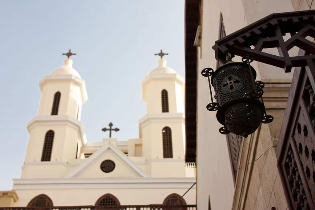 hanging church in cairo