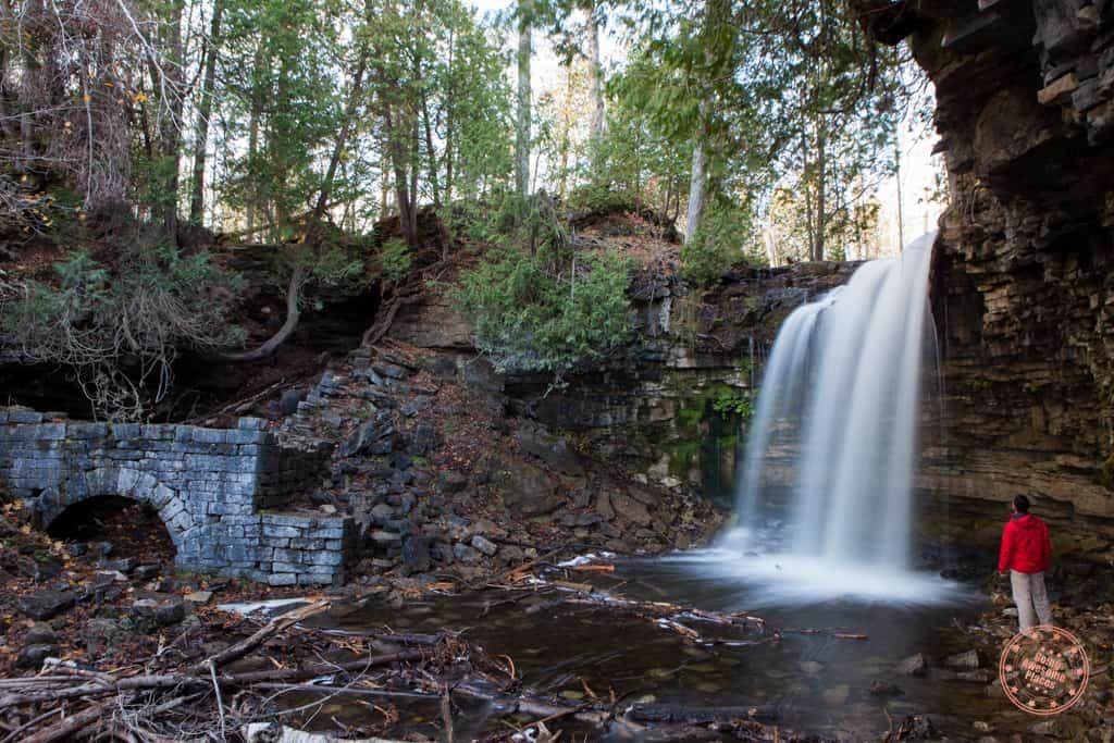 hilton falls near milton ontario