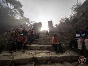 inca trail sun gate sunrise