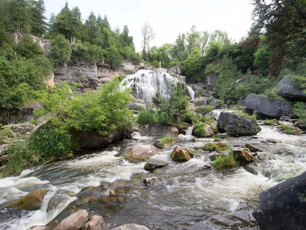 inglis falls in grey county ontario for weekend getaways from toronto