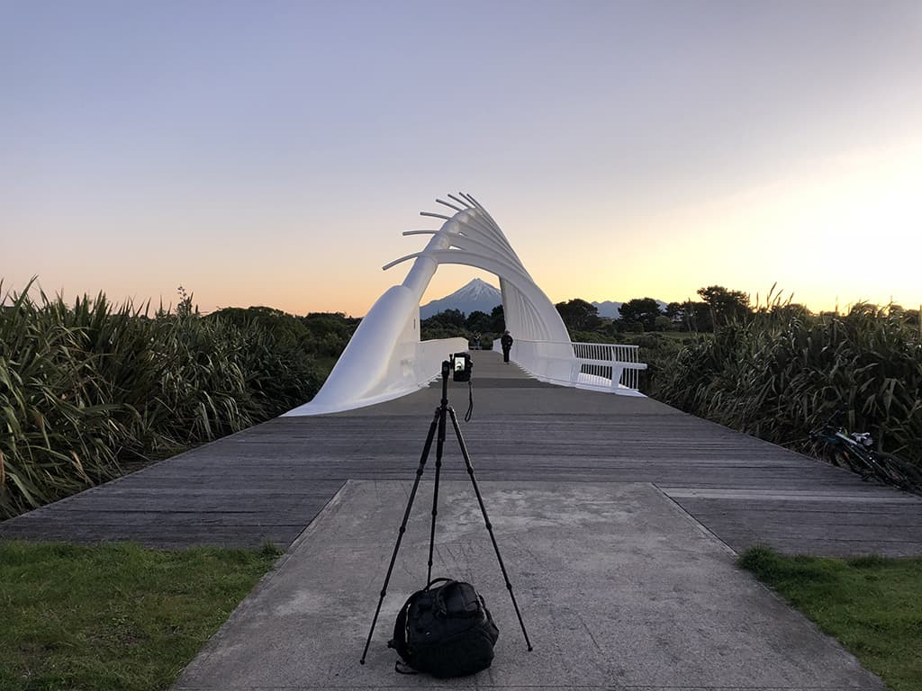 long exposure tripod photography in new zealand