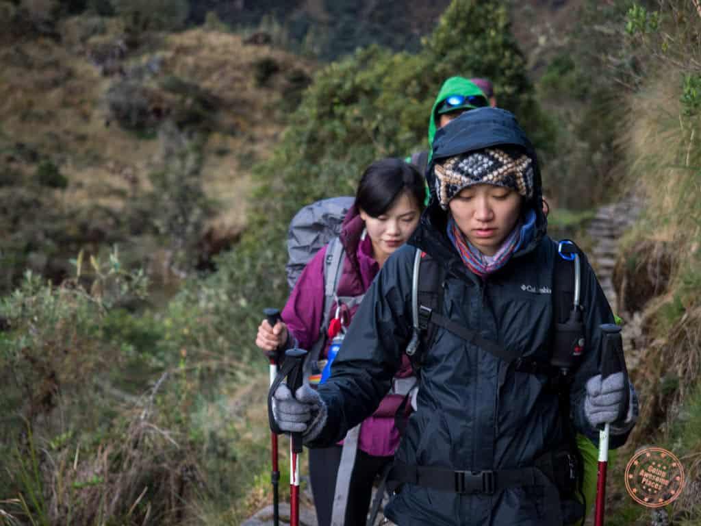 machu picchu hike fitness level