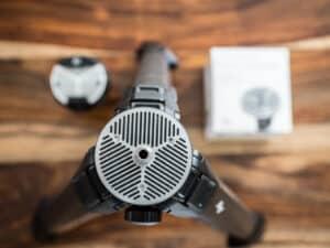 peak design universal tripod head adapter installed