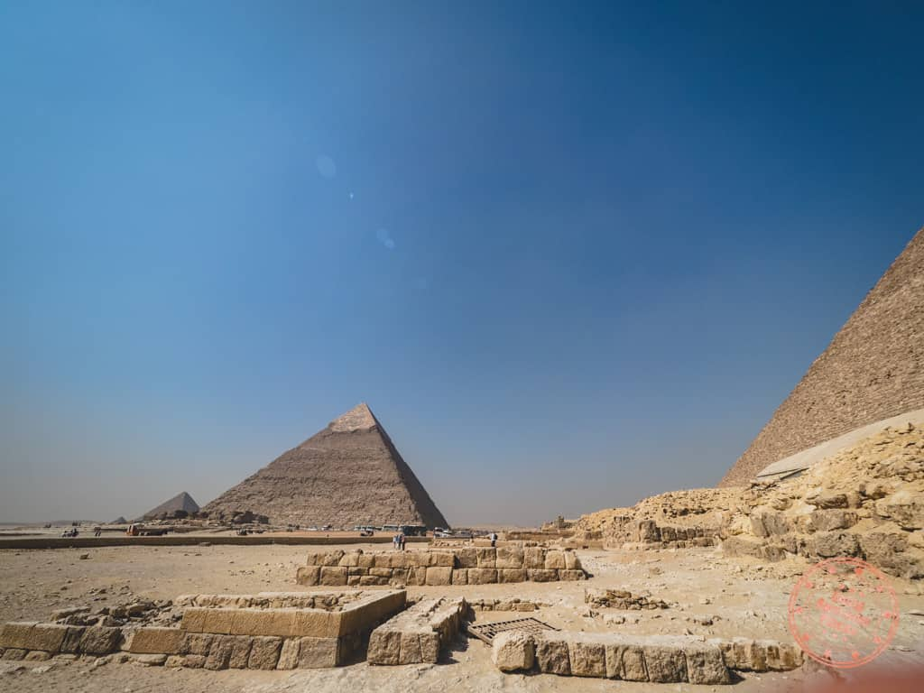 3 days in cairo itinerary with pyramids of giza
