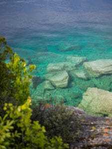 clear waters of bruce peninsula