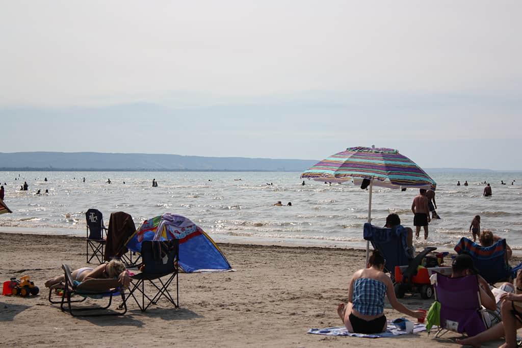 wasaga beach summer time