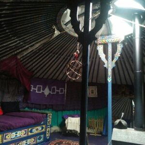 wyldwood sojourn yurt interior