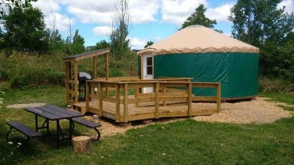 bronte creek provincial park yurts