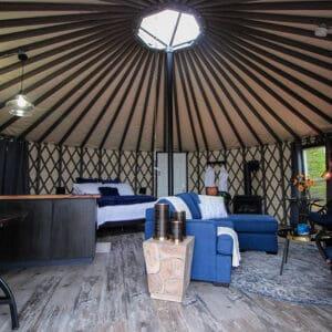yurt it up north rossport ontario interior
