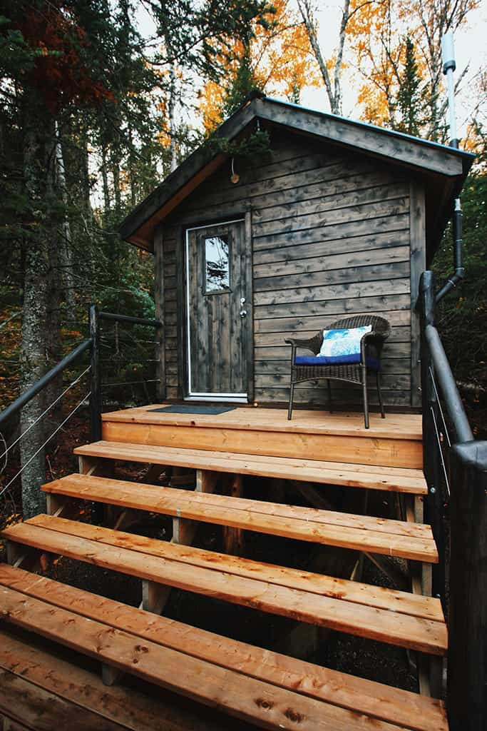 yurt it up north outhouse
