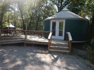 yurts in pinery provincial park