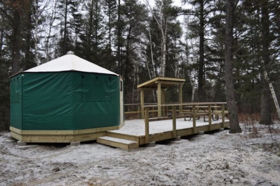 Yurts In Ontario From Basic To Glamping Going Awesome Places Each yurt sleeps 5 with 2 sets of bunks, twin over twin and twin over a double futon. yurts in ontario from basic to