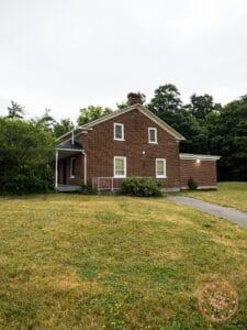 historic baker house at sugarbush park