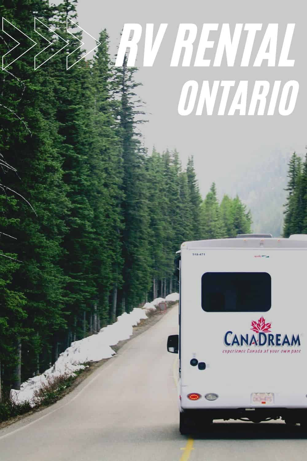 How to Find RV Rentals in Ontario