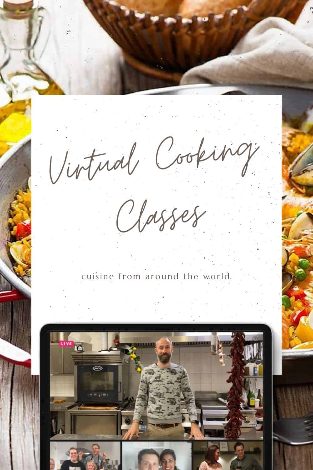 Top Virtual Cooking Classes Around The World