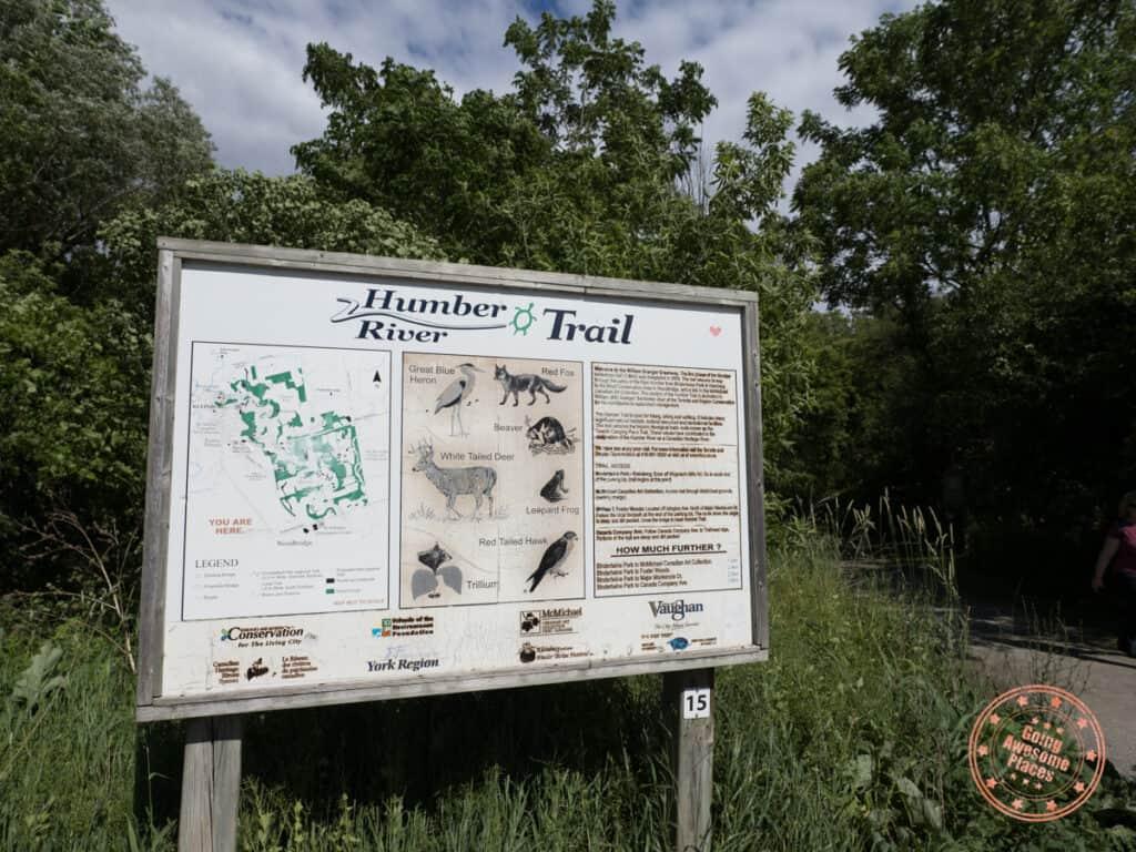 bindertwine park trail sign
