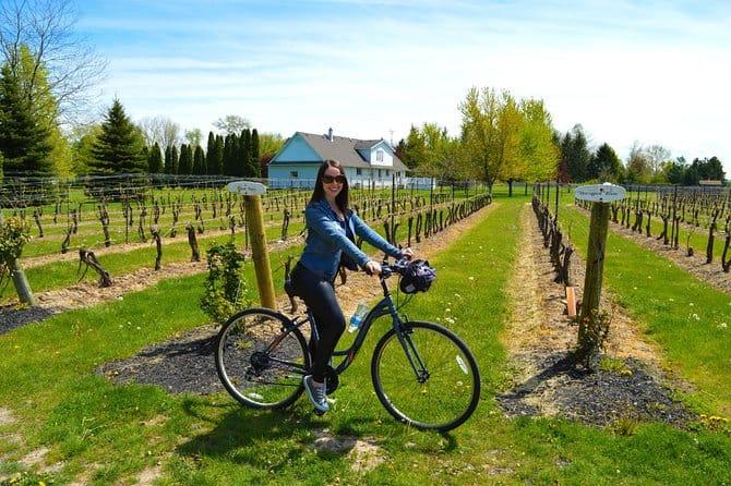 cycle and wine tasting tour niagara falls