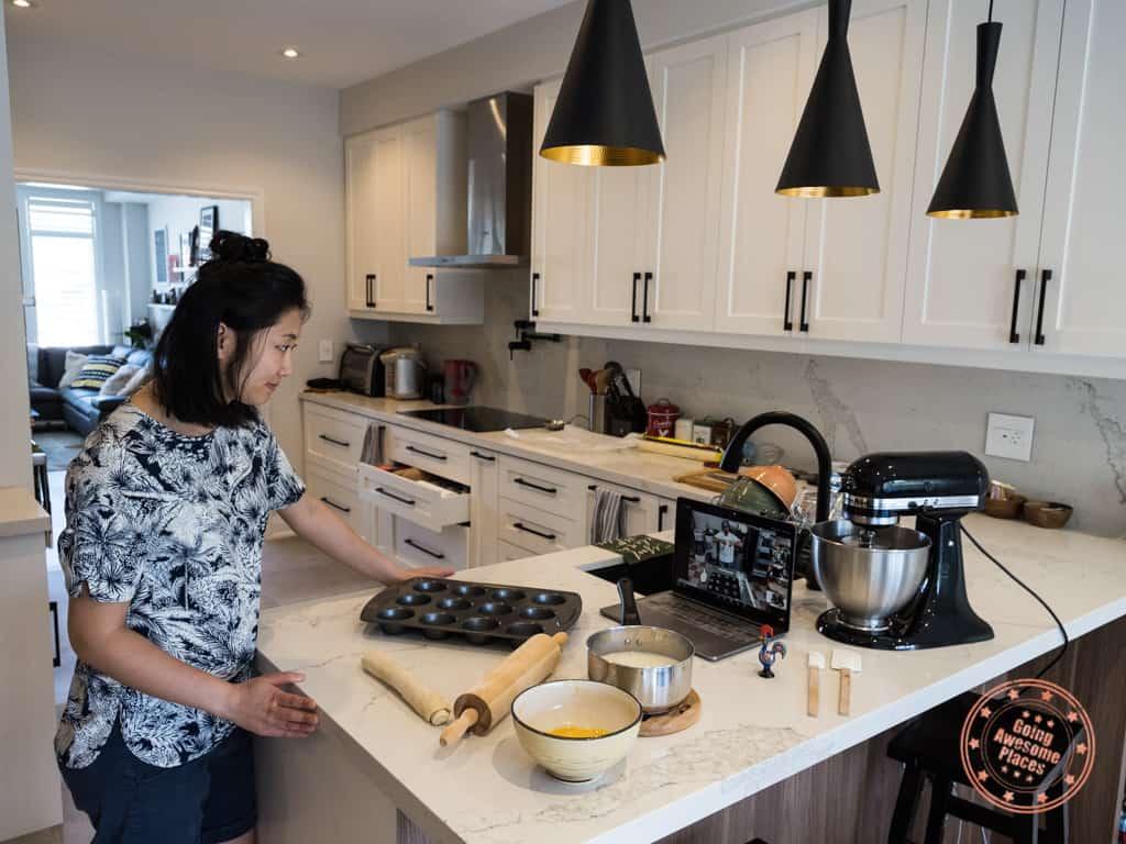 pastel de nata virtual cooking class