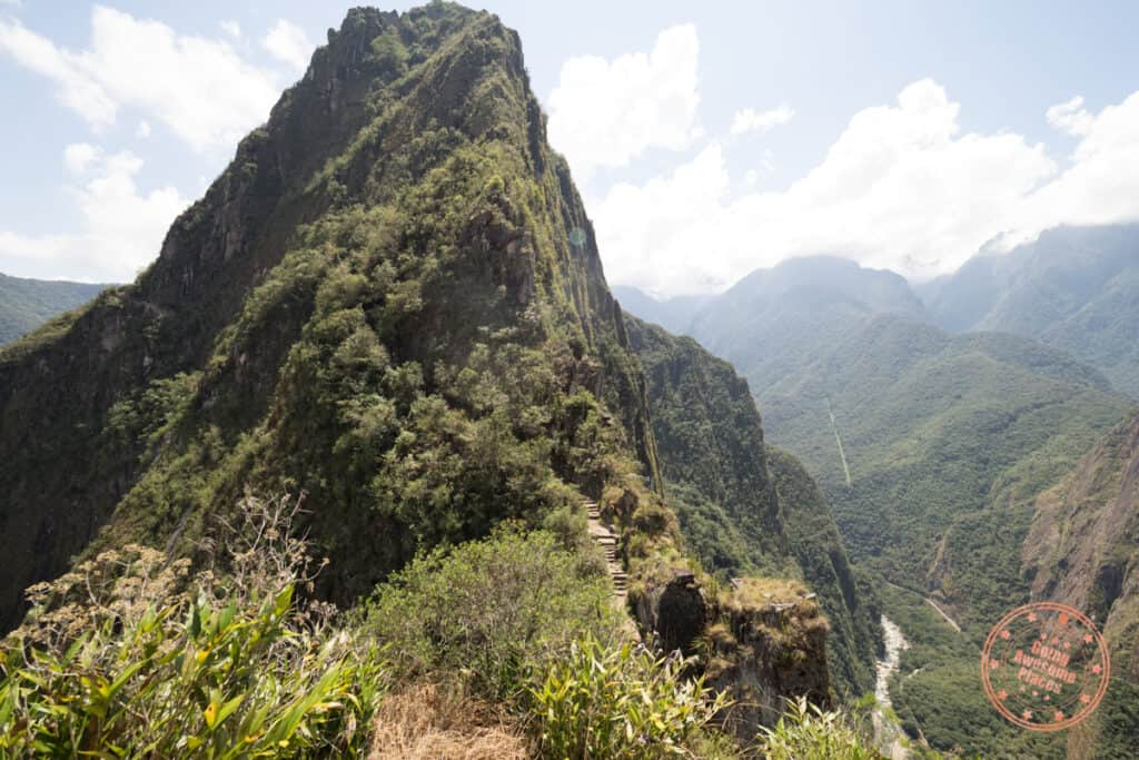 start of huayna picchu hike