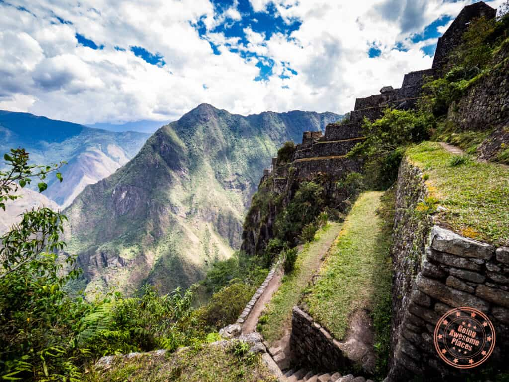 terraces of wayna picchu