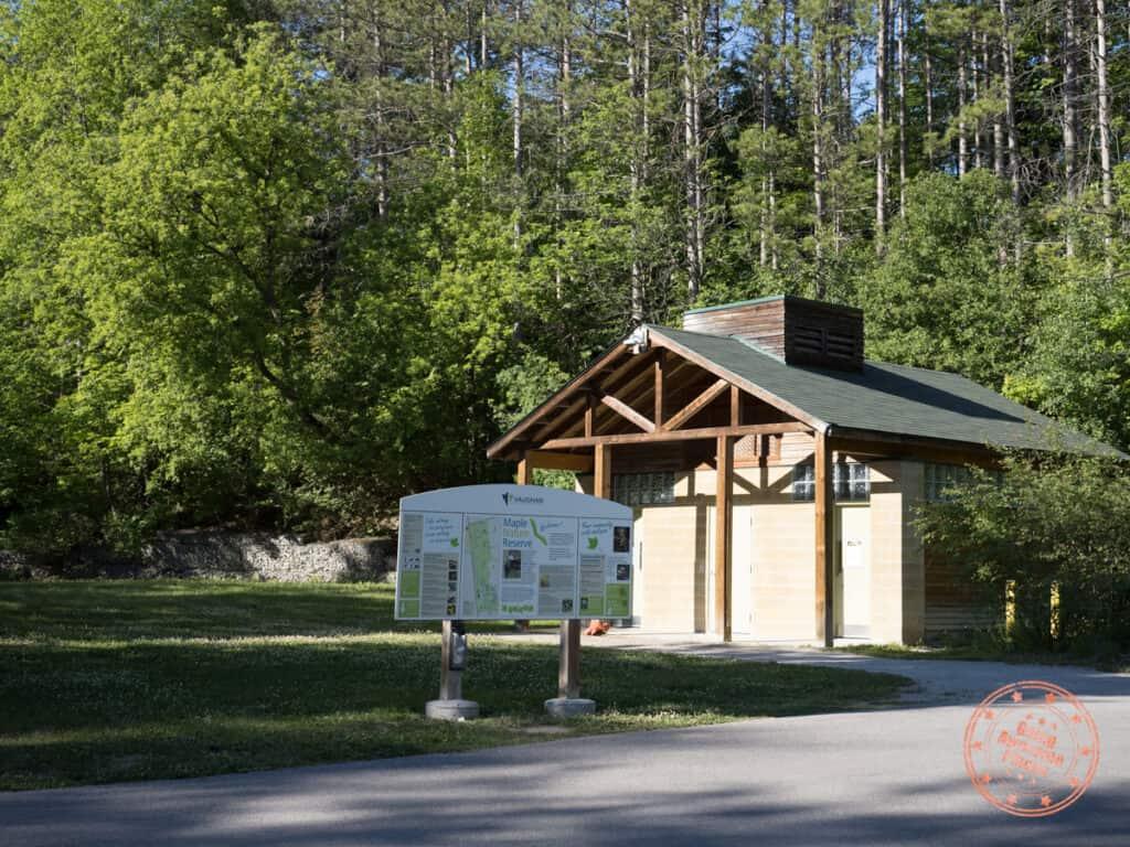 vaughan maple nature reserve washroom facilities