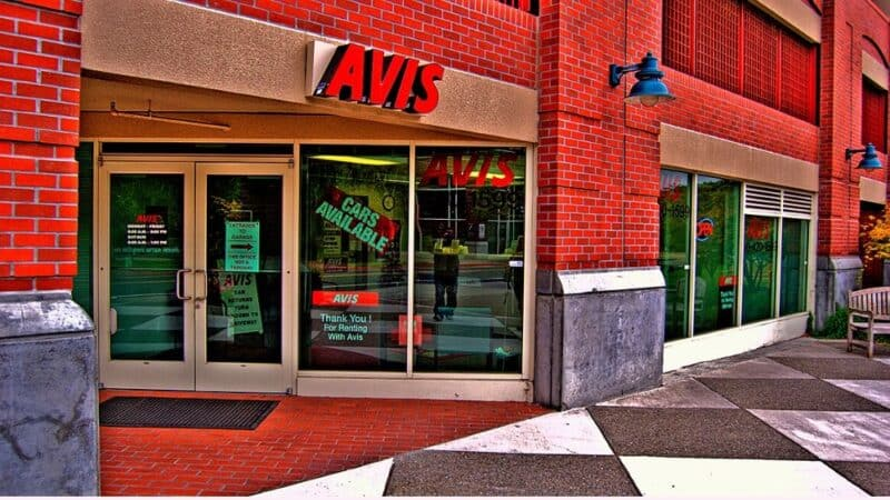 avis awd codes rental car storefront featured
