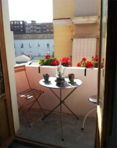 alicante designer loft balcony