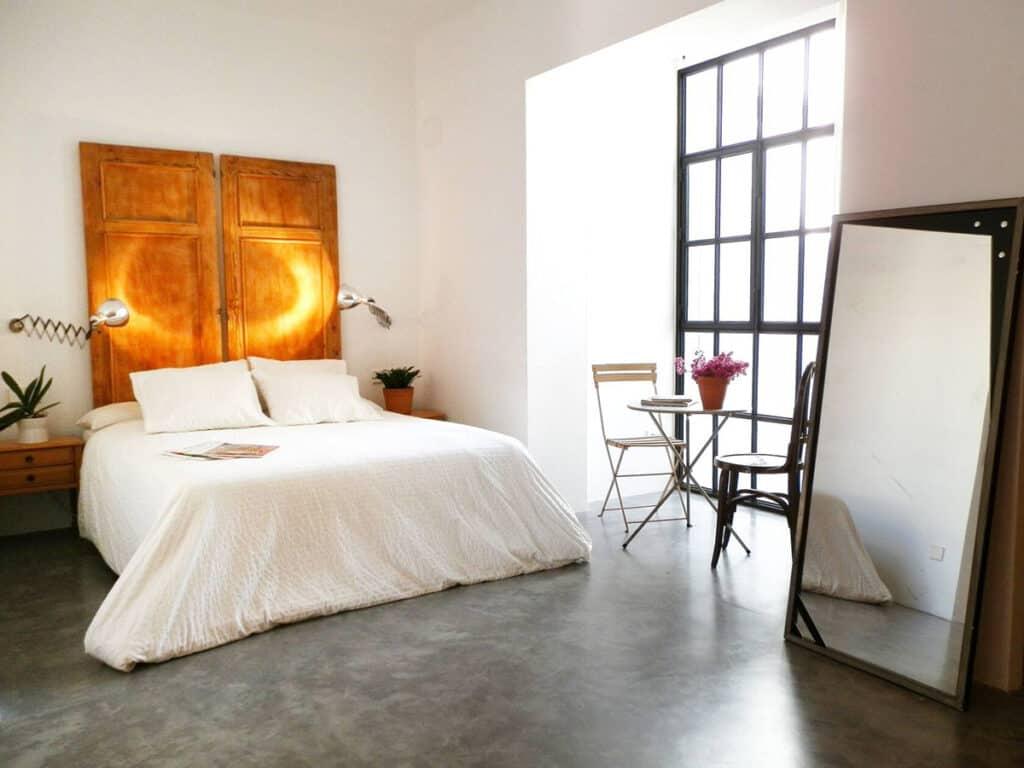 alicante airbnb designer loft bed