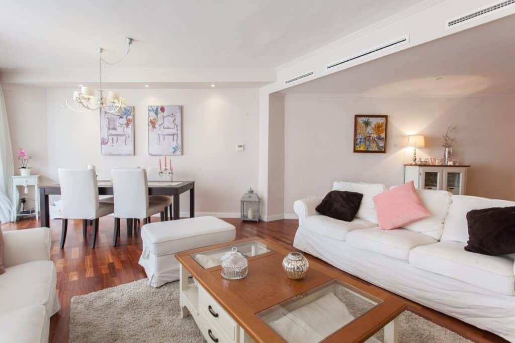 alicante airbnb rambla loft living room where to stay