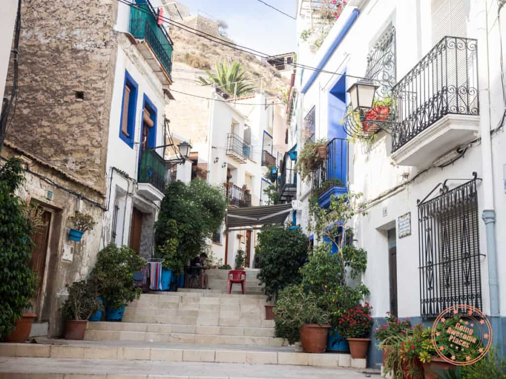 alicante el barrio old city