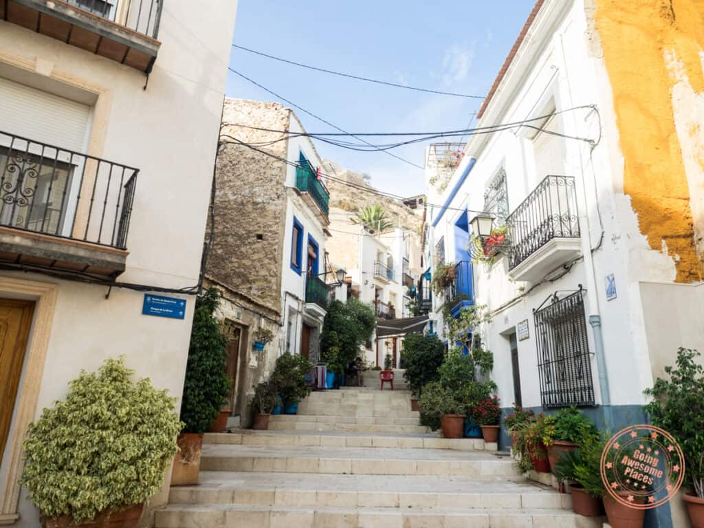 old city in 5 day alicante itinerary