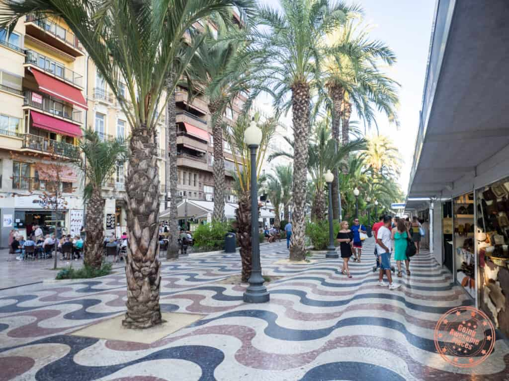 alicante downtown pedestrian street in things to do and 5 day itinerary