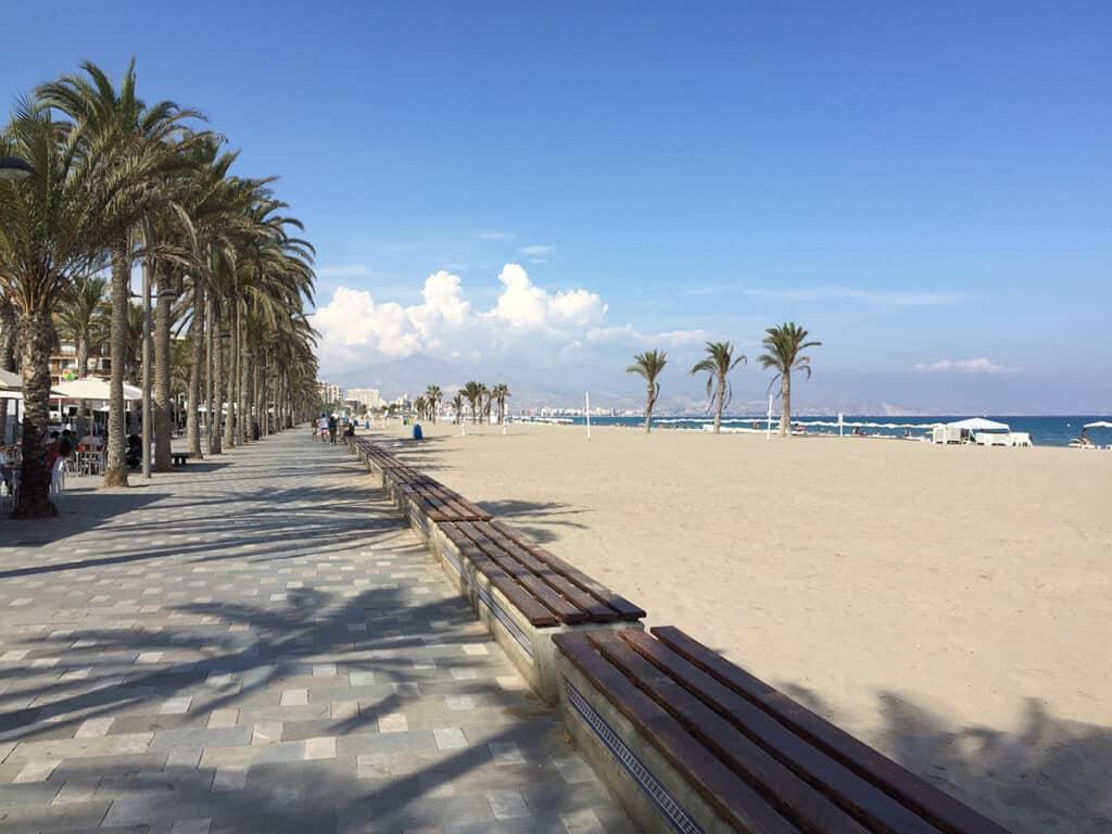 alicante playa de san juan beach