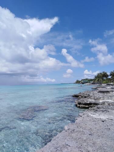 chez sand rangiroa pension and their beach