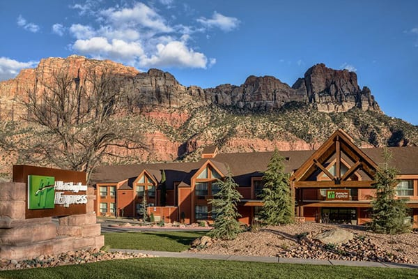 holiday inn express springdale near zion national park