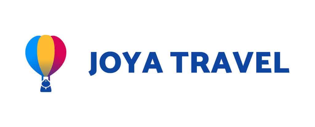 joya travel app banner and logo