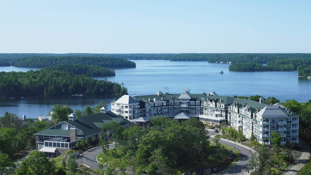 jw marriott the rosseau muskoka resort and spa in ontario