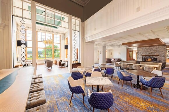 jw marriott the rosseau muskoka lounge