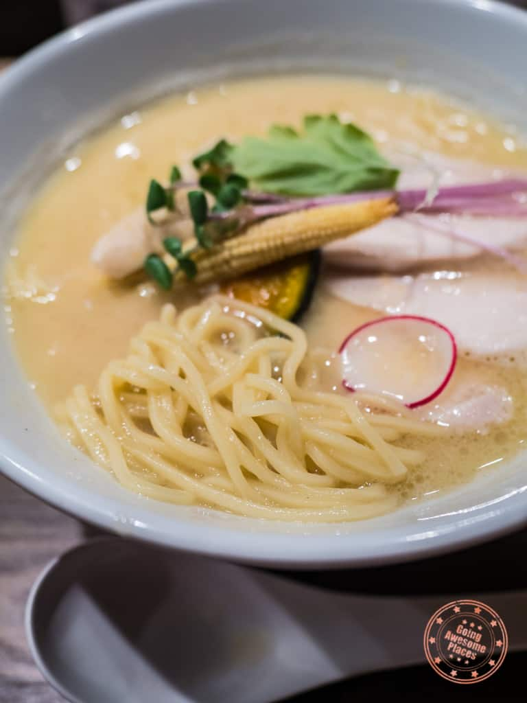 kagari tori paitan ramen in kamakura location