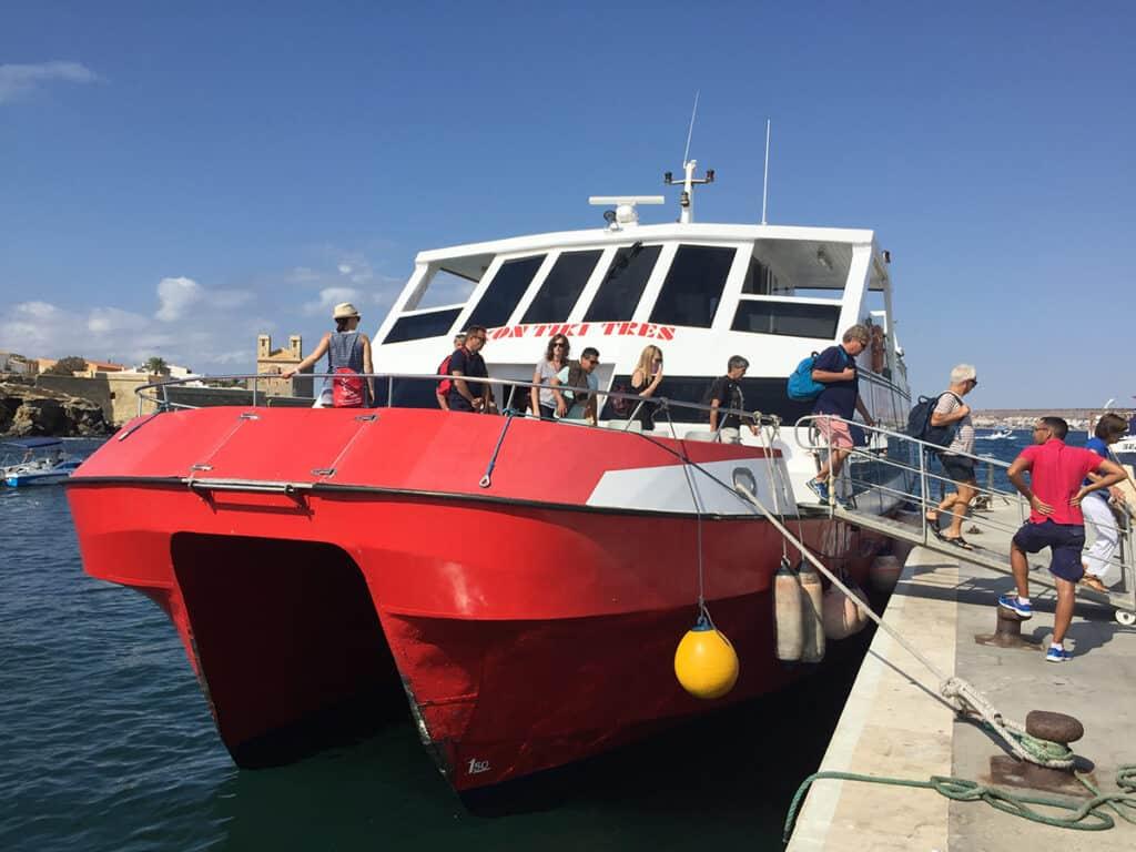 kontiki cruises isla de tabarca boat