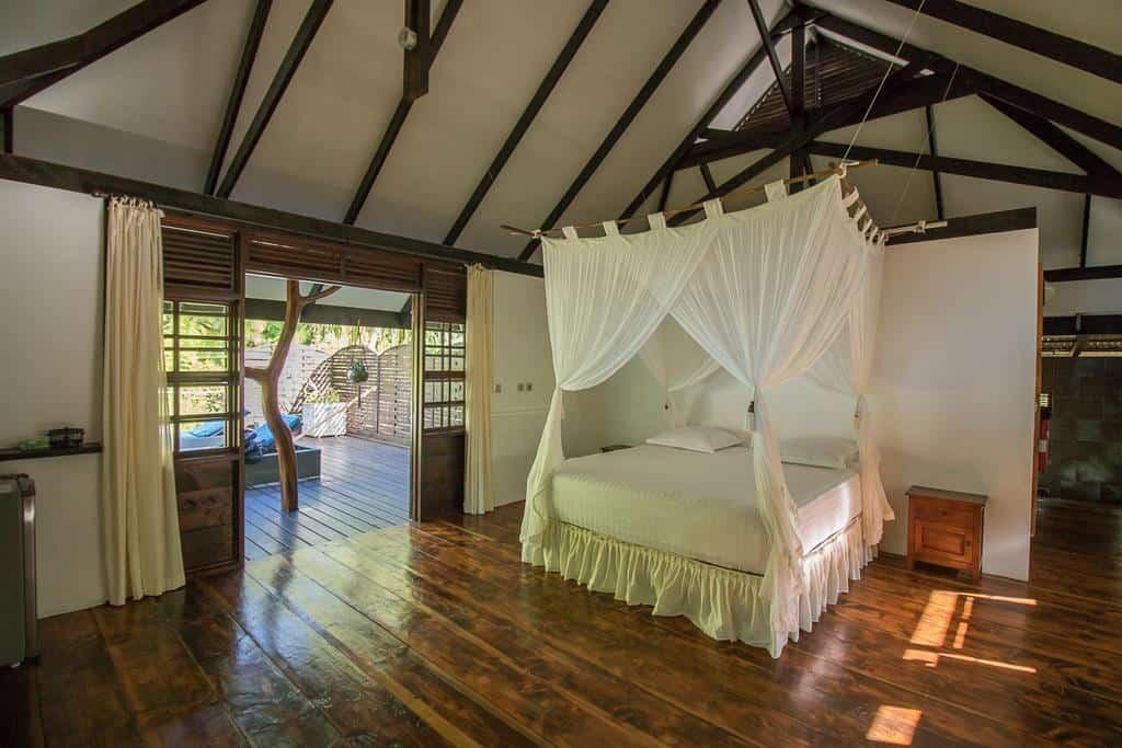 le coconut lodge in rangiroa bedroom suite