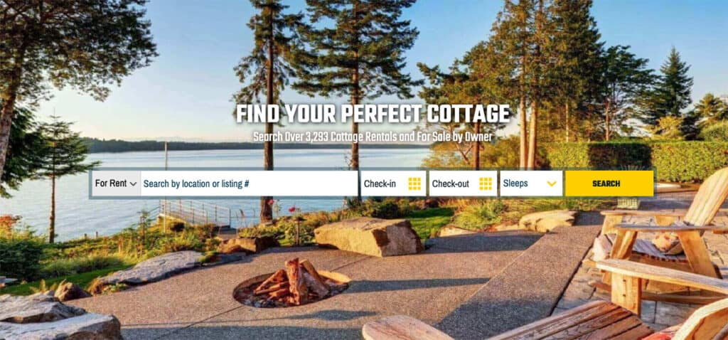cottages in canada for muskoka rentals