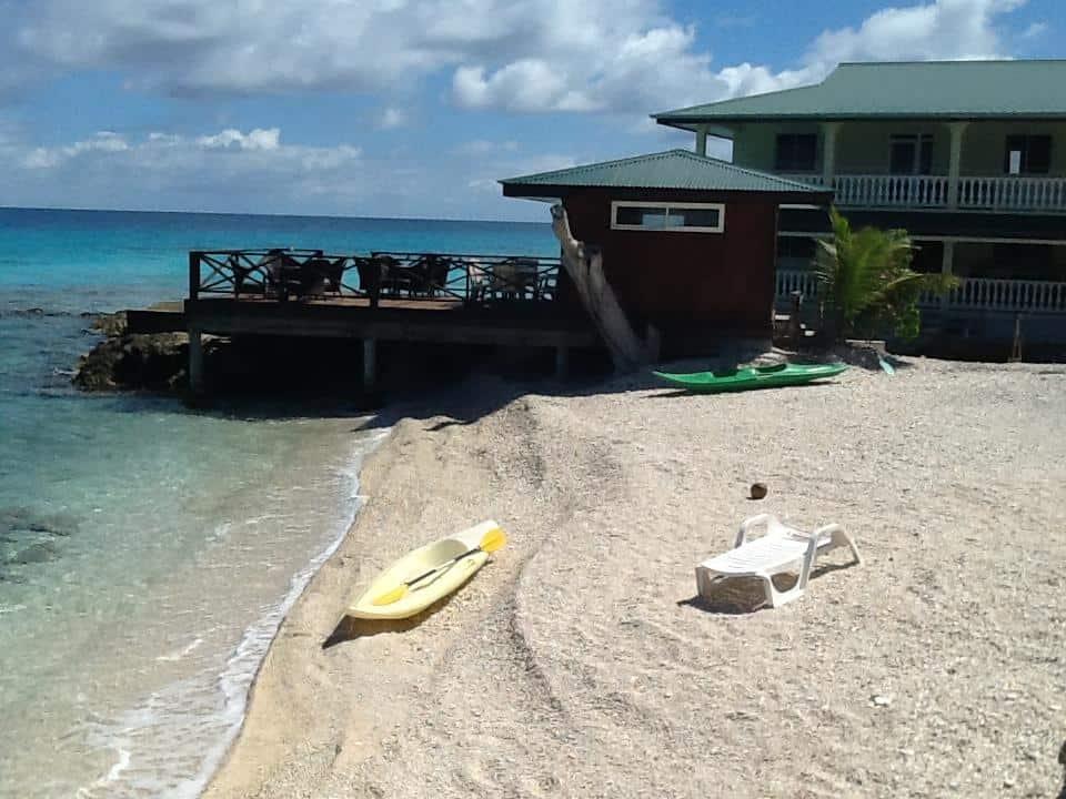 pension turiroa chez olga beach in rangiroa