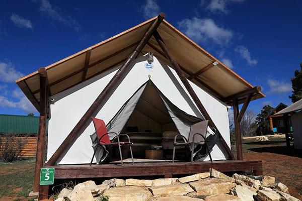 zion ponderosa ranch resort glamping tent
