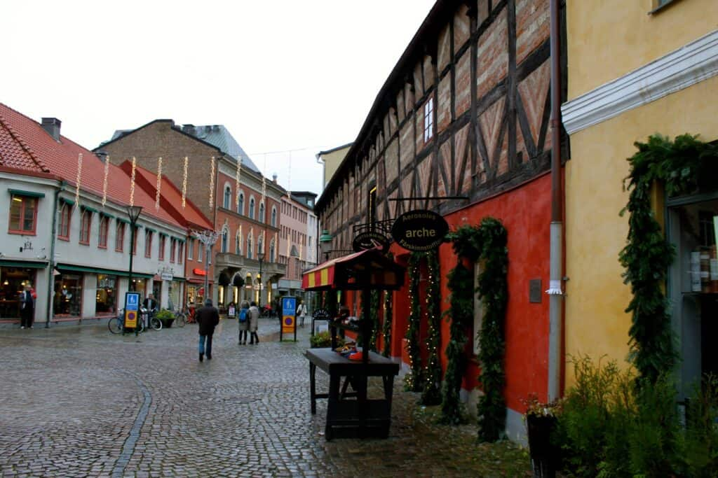 lilla torg cobblestone street