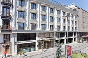 miss istanbul hotel and spa exterior entrance